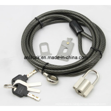 Laptop Lock &Padlock, Cable +Padlock (AL2000)